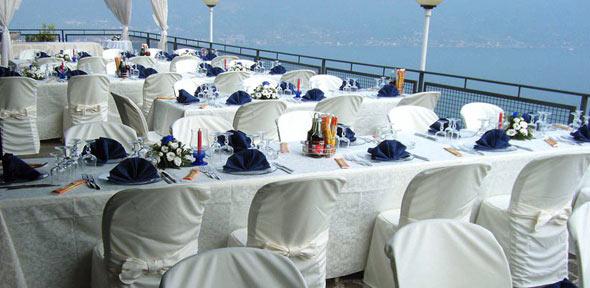 Restaurant und pizzeria am Gardasee